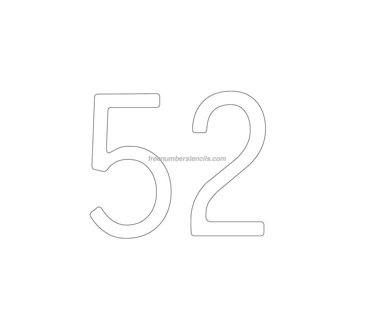 number 9 cake template - cake free 52 number stencil