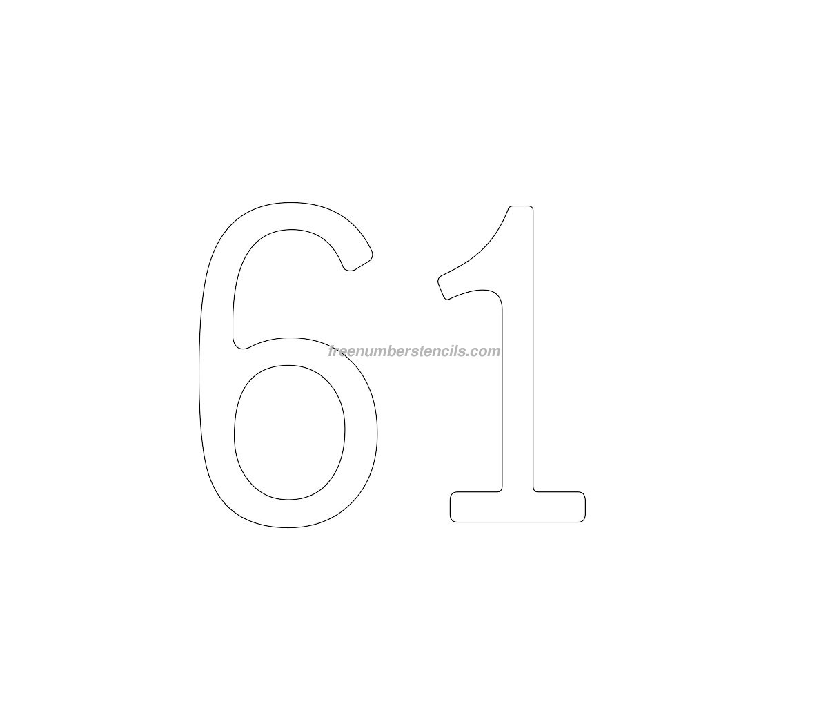 number 9 cake template - cake free 61 number stencil
