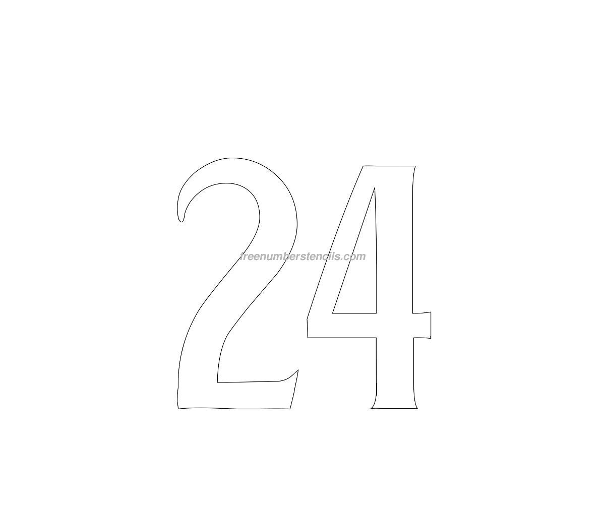 stencil-house-number24