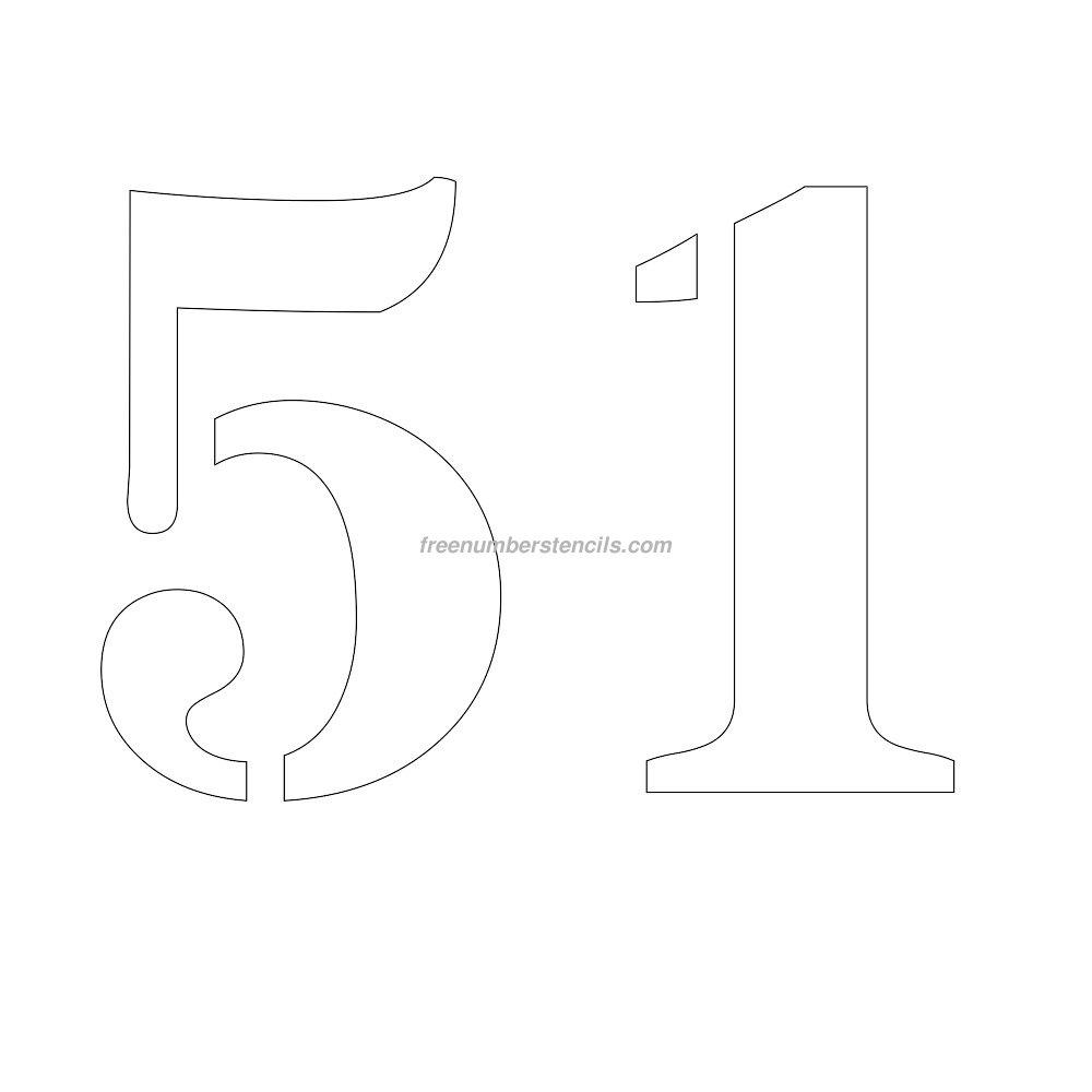 stencil-number-11-inch-51
