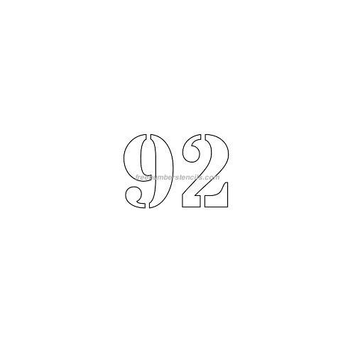 stencil-number-2-inch-92