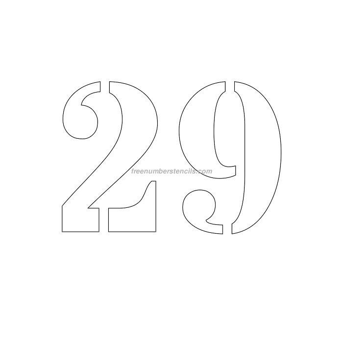 stencil-number-6-inch-29