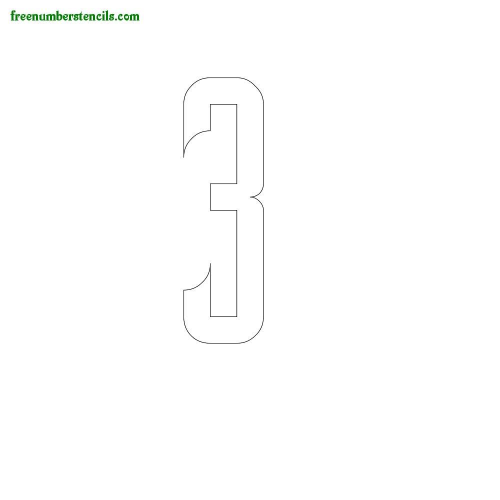 Slab Serif Stencils #3