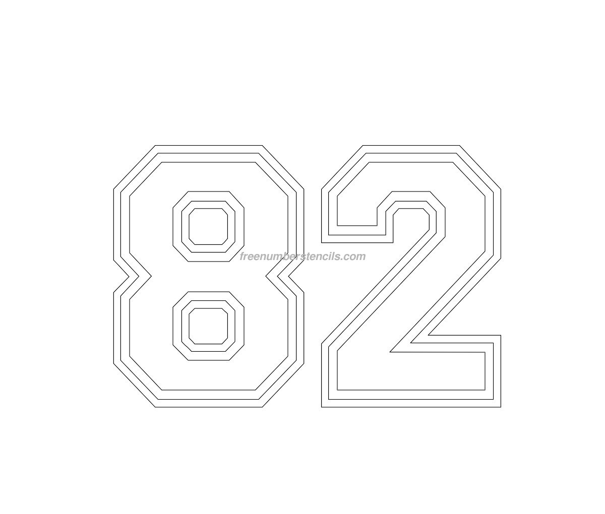 number stencils free Quotes