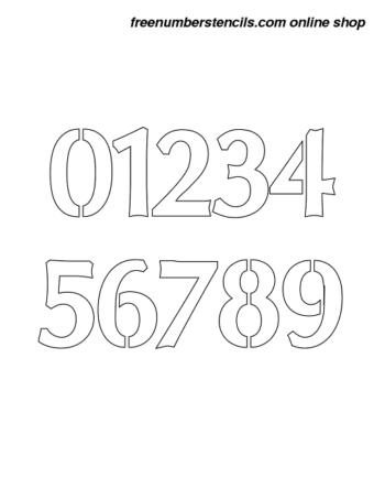 5 Inch Stencils