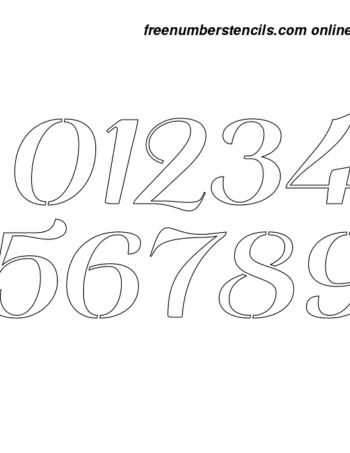 12 Inch Stencils