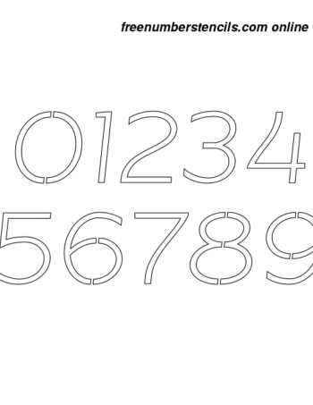 3 Inch Beautiful Italic Italic Number Stencils 0 to 9 3 Inch Beautiful Italic Italic Number Stencils 0 to 9 Number Stencil Sample