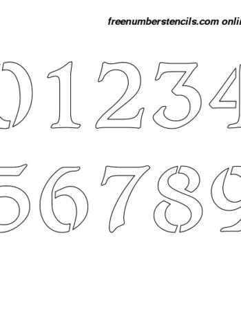 4 Inch Stencils