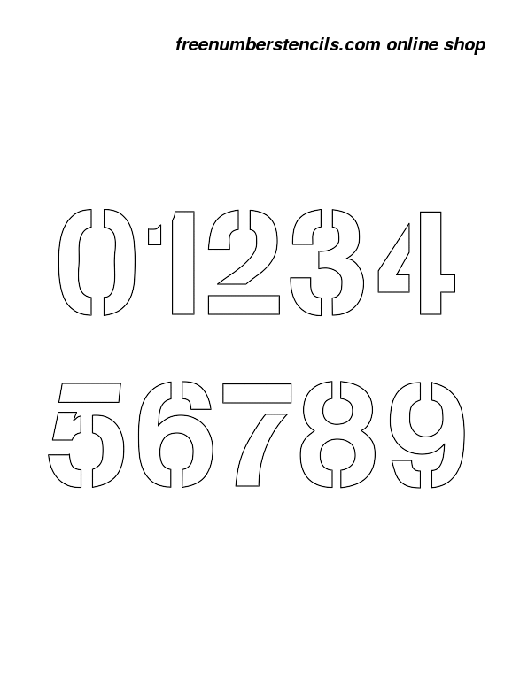It's just a graphic of 3 Inch Number Stencils Printable Free with regard to 32 inch