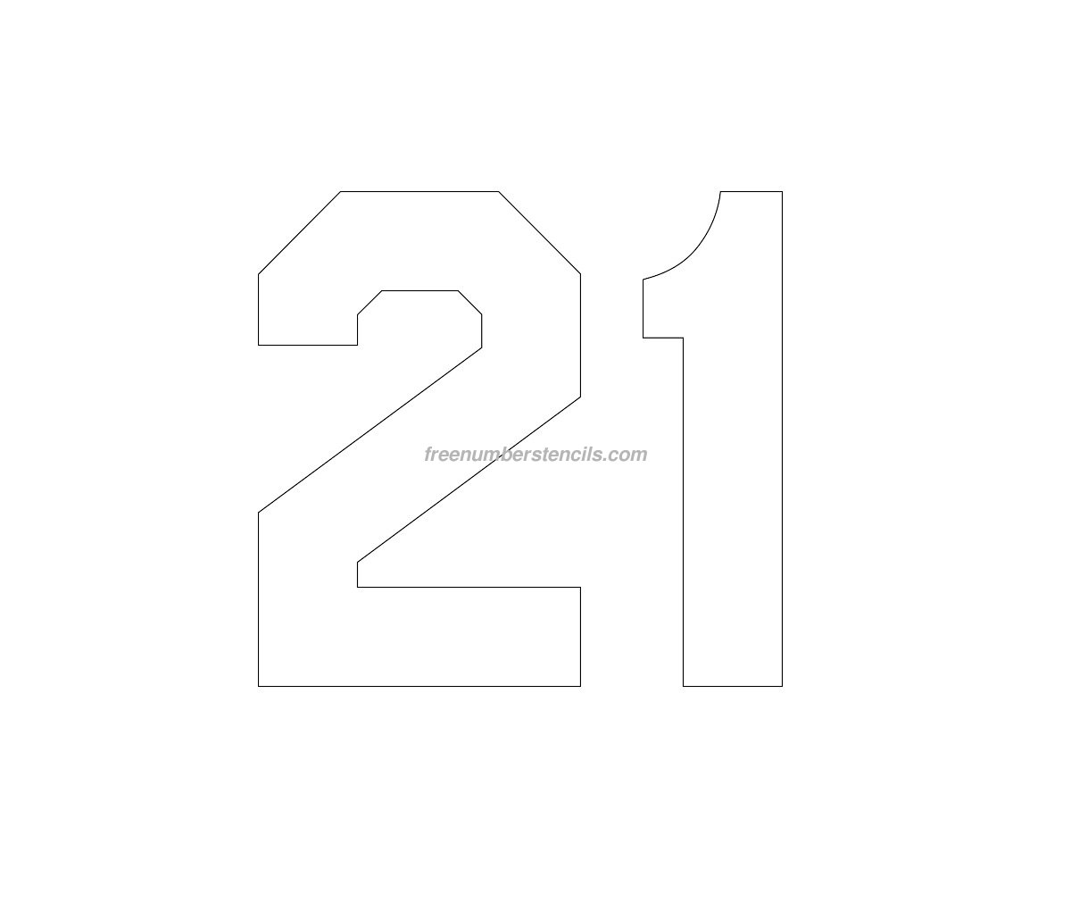 hockey number stencils archives freenumberstencils com