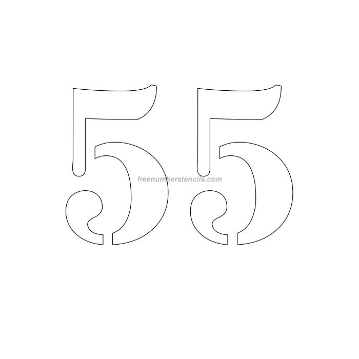 Раскраски на юбилей 55 лет